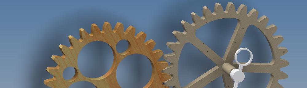 Wooden-Clocks / Holzräderuhren